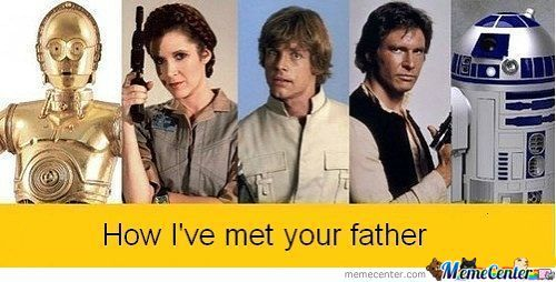 How I've Met Your Mother Star Wars Version