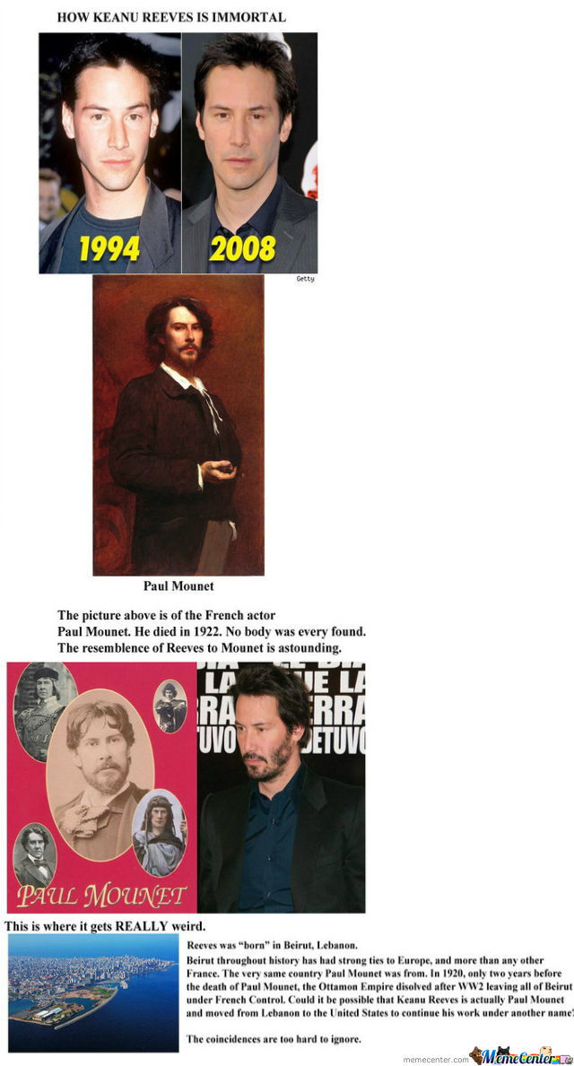 How Keanu Reeves Is Immortal