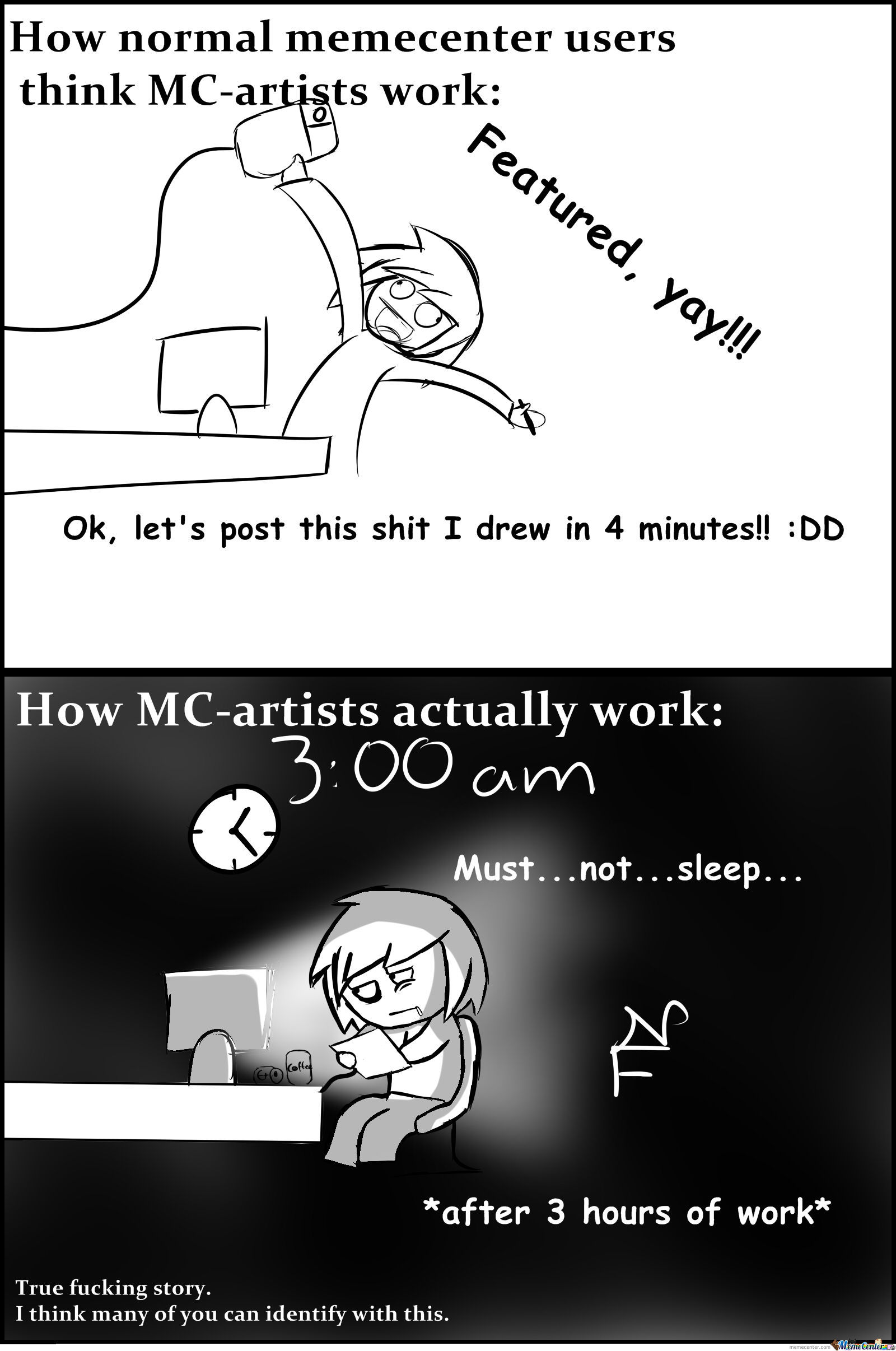 How Mc-Artists Work.