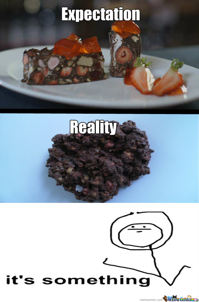 How My Food Turned Out In Food Tech...