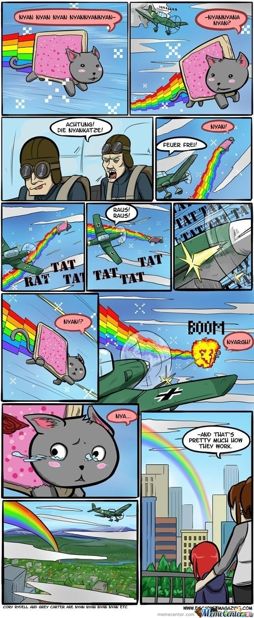 How Rainbows Are Made :)