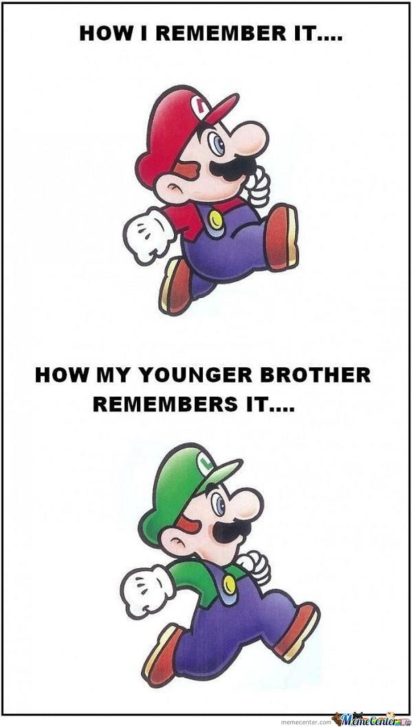 How Real Bros Remember Mario Bros!