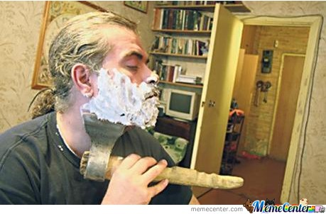 How Real Men Shave