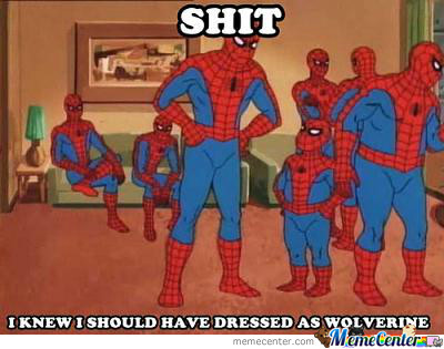 How Spidey Feels When Someone Declares A Spiderman Thread..we Never Think Of Him
