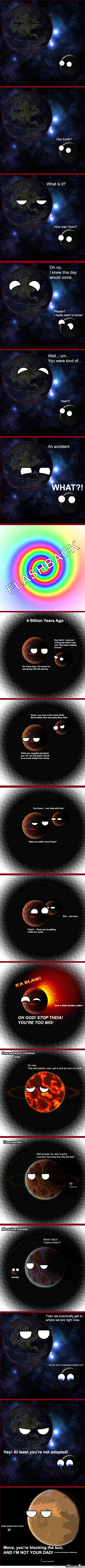 How The Moon Was Born
