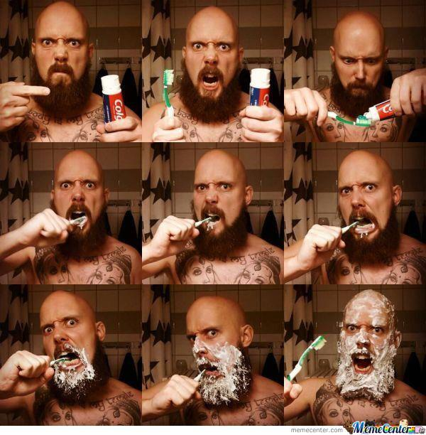 How To Brush Your Teeth Like A Man