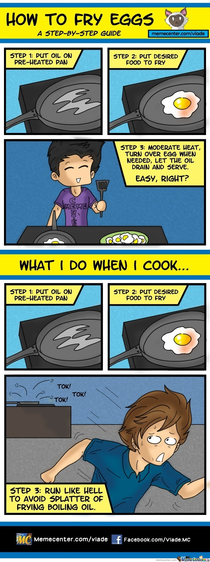 How To Fry Eggs!