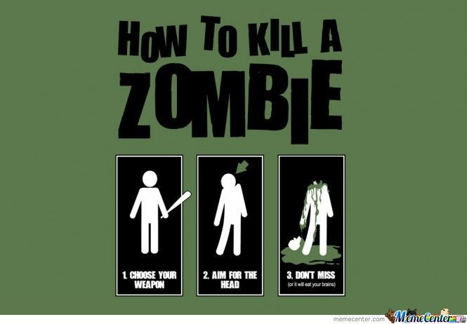 How To Kill A Zombie For Dummies