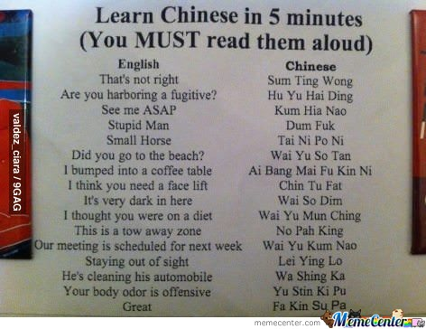 How To Speak Chinese