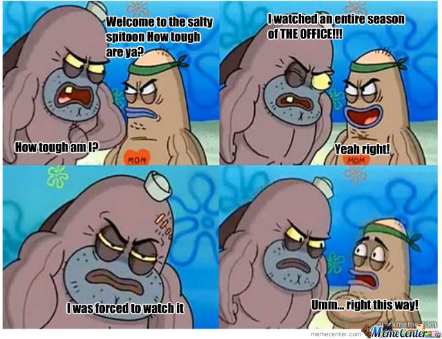 How Tough Are Ya The Office