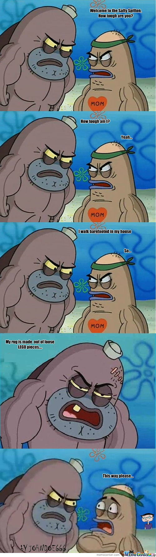 How Tough? Lego Level