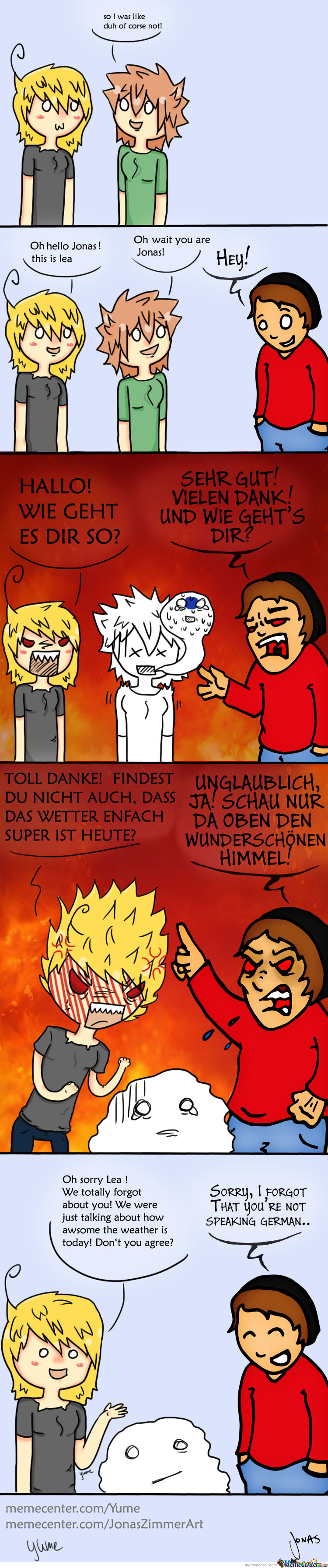 How We Think German Sounds To Foreigners (Starring Jonas Zimmer Art)