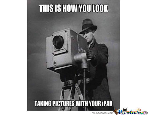 How You Look Taking A Pic