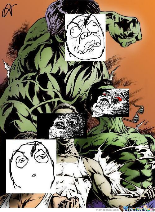 Hulk Transformation: Meme Edition