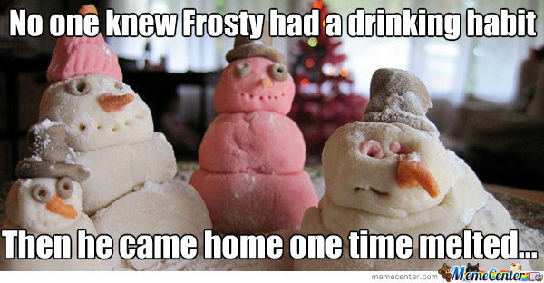 Humans Are Blasted, Snowmen Are Melted