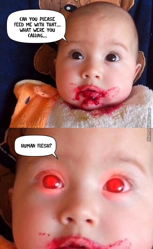 Hungry Toddler