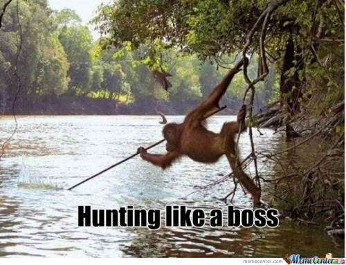 hunting like a boss