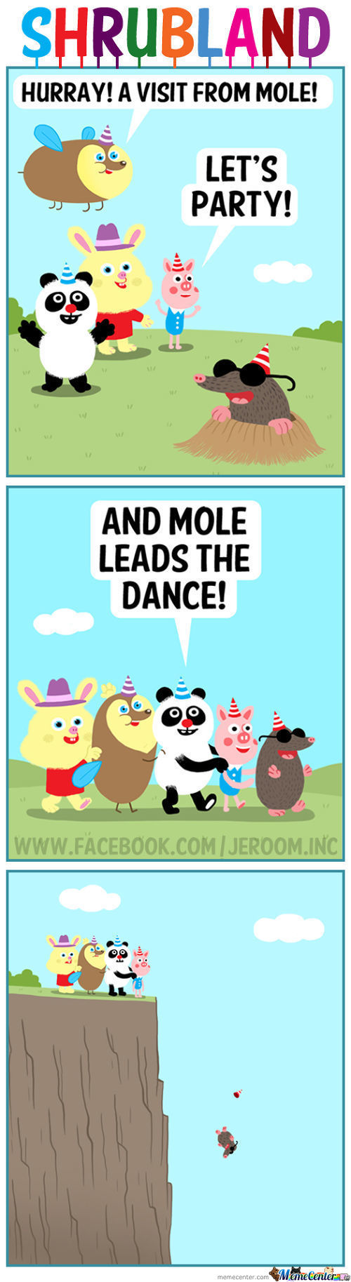 Hurray! A Visit From Mole!