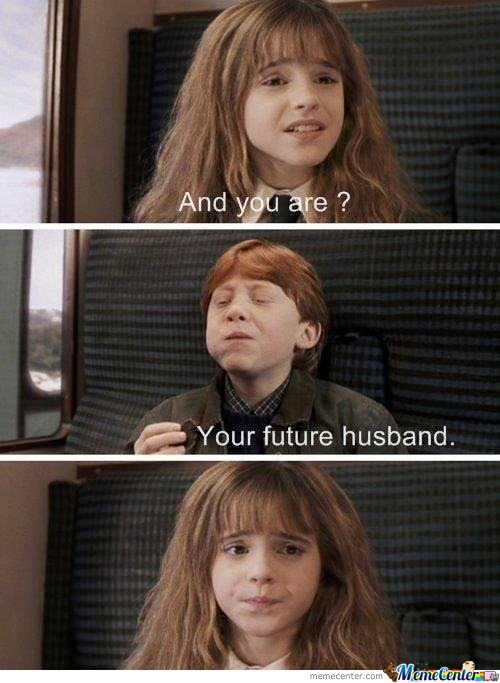 Funny Harry Potter And Hermione Memes : Ron hermione memes best collection of funny