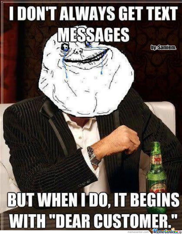I Always Be Forever Alone.