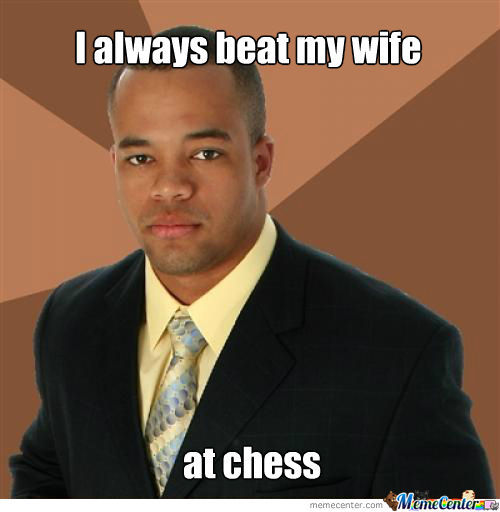 I Always Beat My Wife