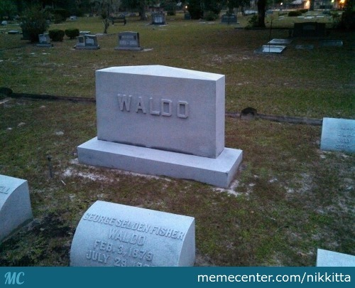I Always Wanted To Find You Waldo, But Not Like This! ..not Like This
