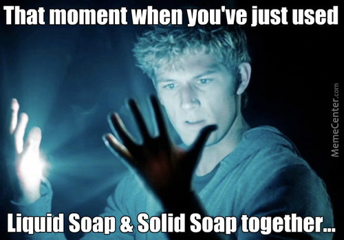 I Am King Midas Of Soap!