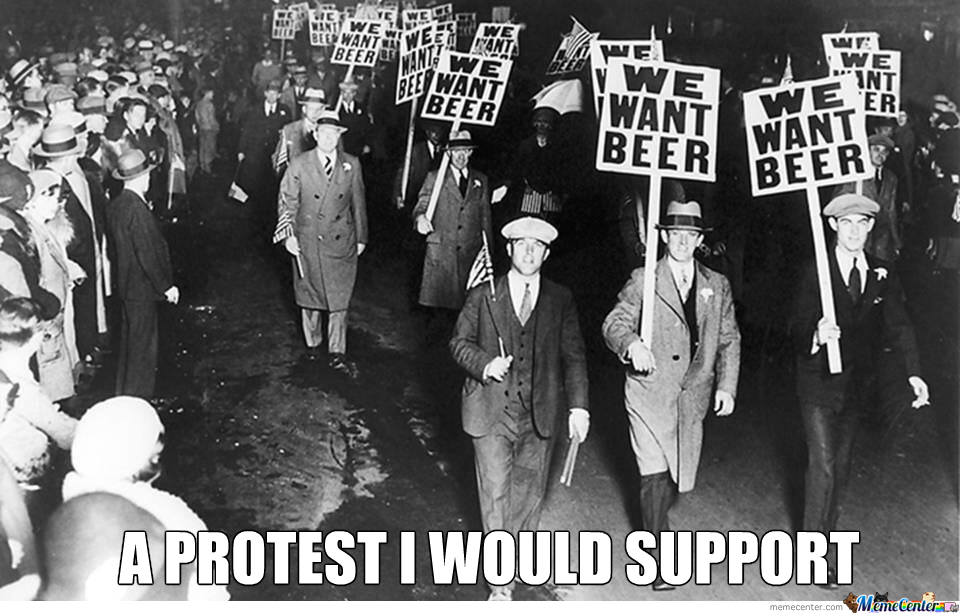 I'd Get Behind This Protest!