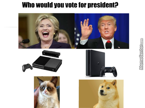 I'd Gofor All Of Them Except Hillary And Donald