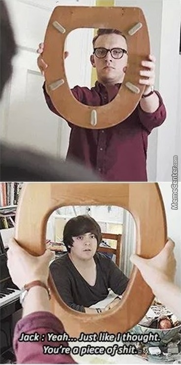 I'm Gonna Carry A Toilet Seat Around With Me And Do This To People.