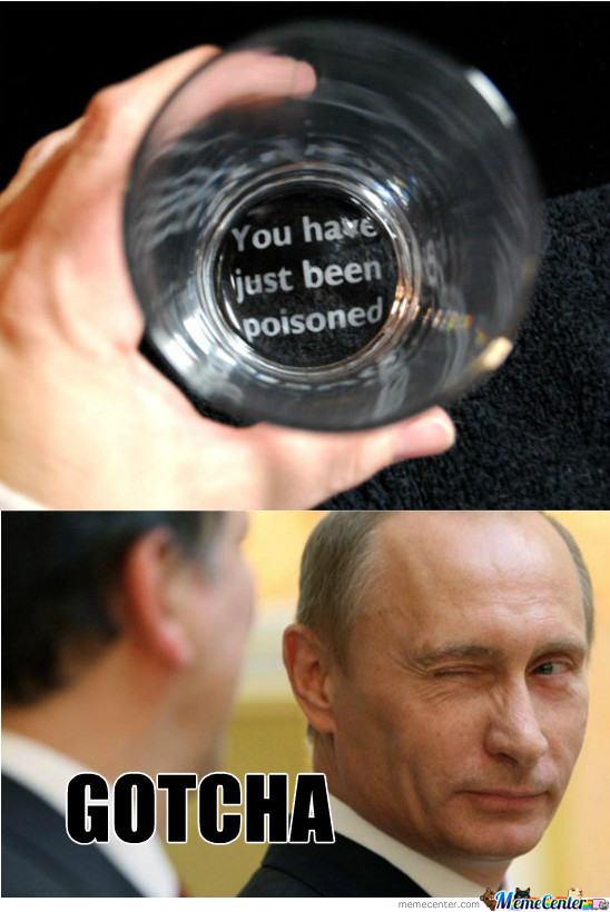 I'm Just Putin You On