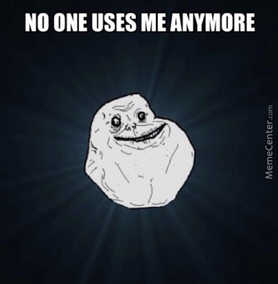 I'm Really Alone I Guess…