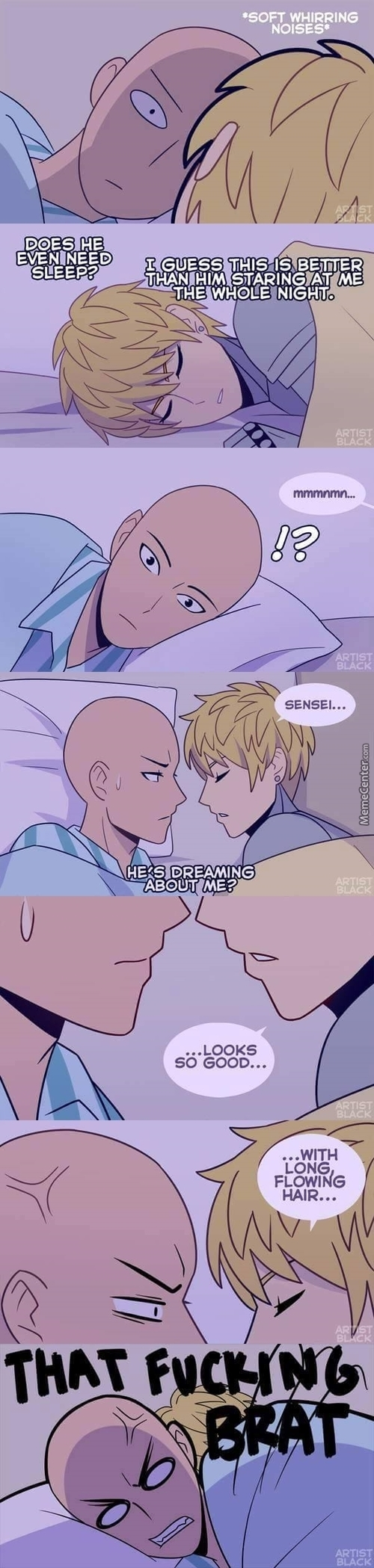 I Bet You Thought This Gonna Be Some Gay-Ass Comic But You Were Wrong, It's Just One Punch Man