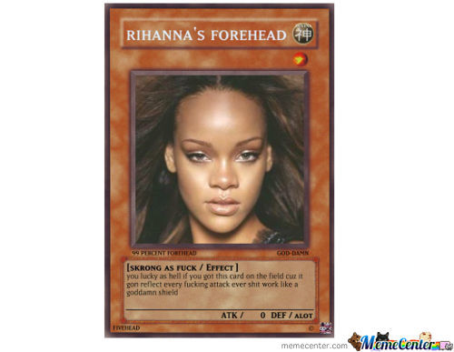 I Call On Rihanna's Forehead Rise!!!