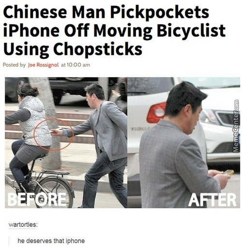 I Can't Even Hold Chopsticks Correctly...