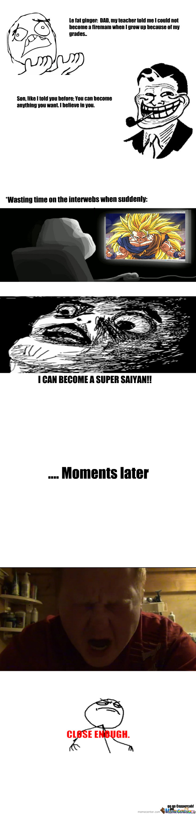 I Can Become A Super Saiyan