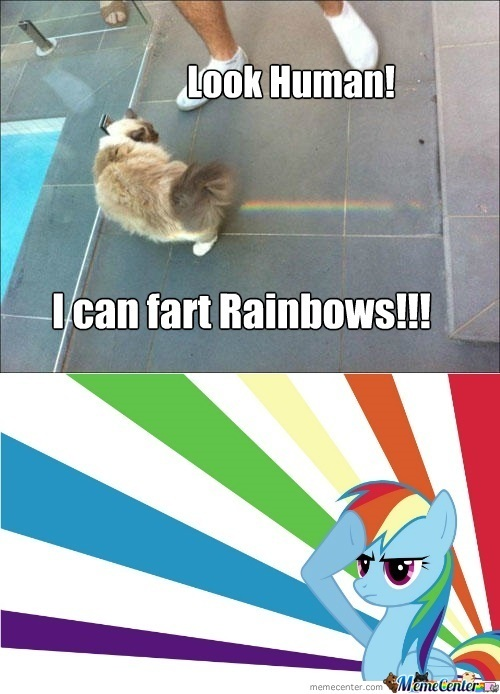 I Can Fart Rainbows