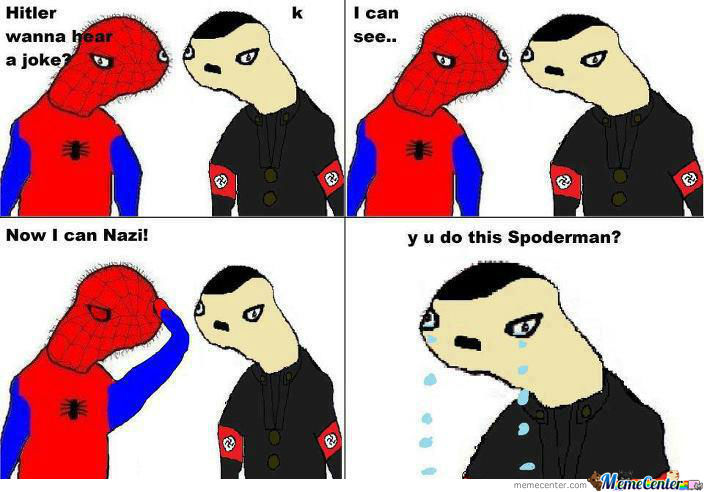 y u do dis spoderman?