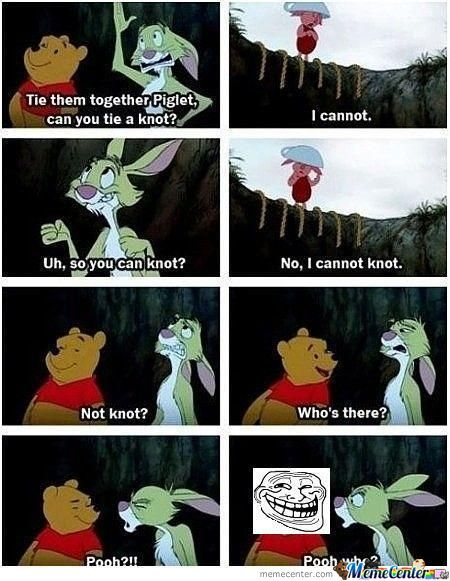 I Cannot Knot A Knot (Trolling Rabbit) Lvl. Pooh