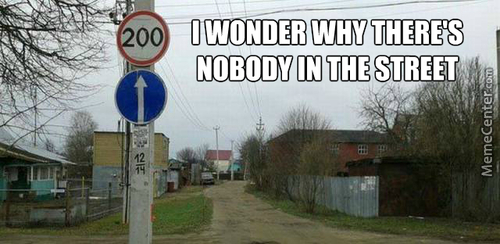 I Dare You To Go Out To That Street