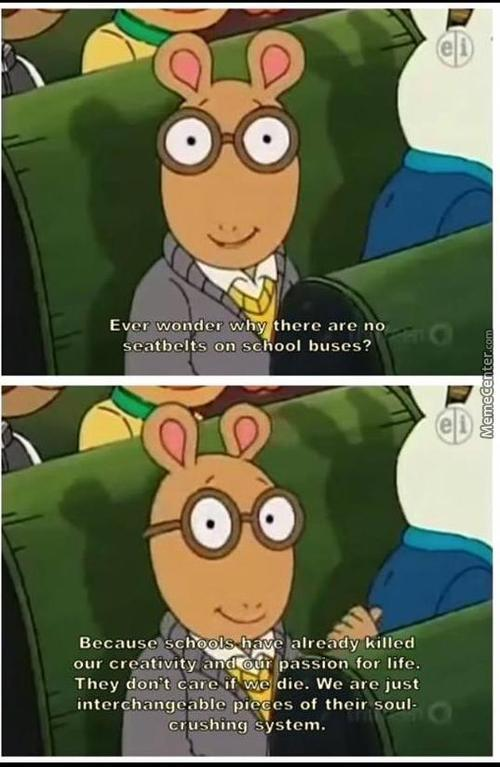 I Don't Remember This Episode Of Arthur
