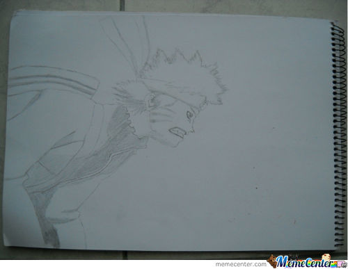 I Drew Naruto(Took Me Way To Long)