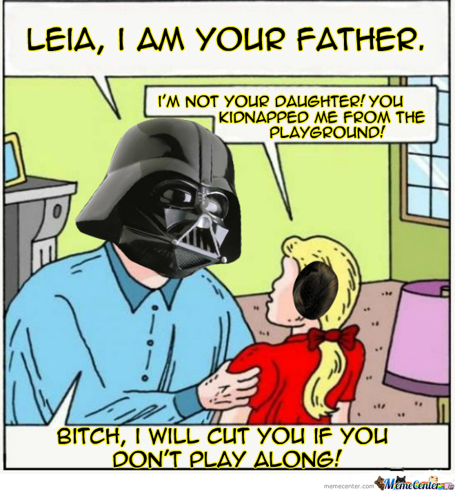 I Find Your Lack Of Role Playing Disturbing