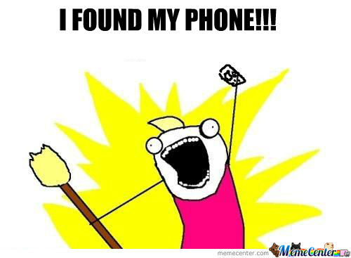 I Found My Phone