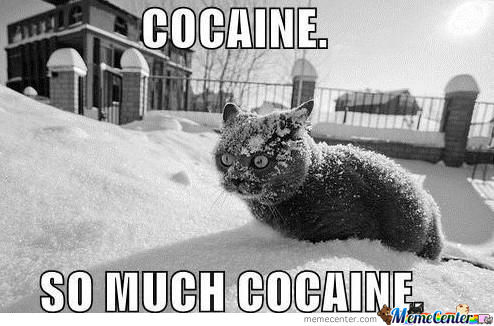 I Fricking Love Cocaine!