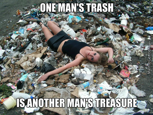 I Guess, That's What You Call White Trash
