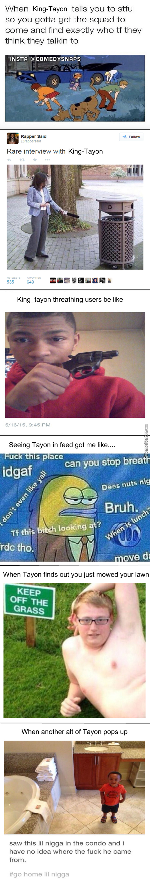I Guess This Counts As Another Mc Tweet Compilation: Peasant_Tayon Edition