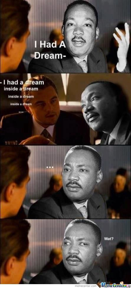 I Had A Dream...