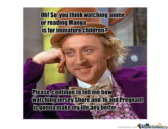 I Hate Manga Or Anime Haters.