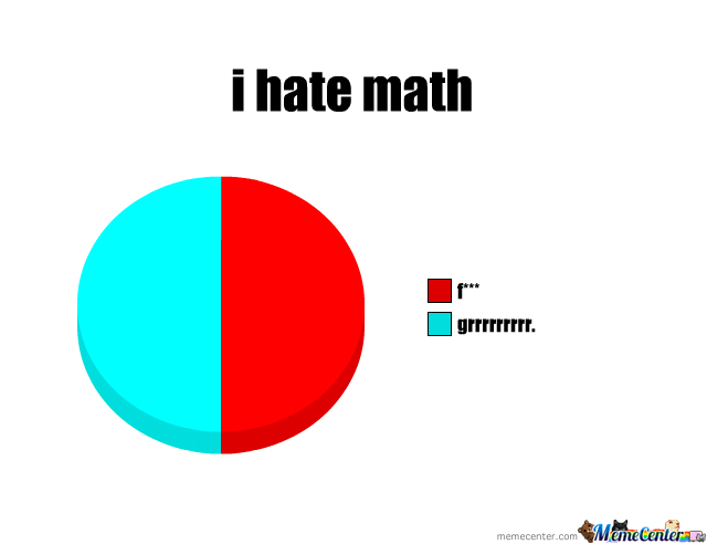 I Hate Math by nayanhamster - Meme Center